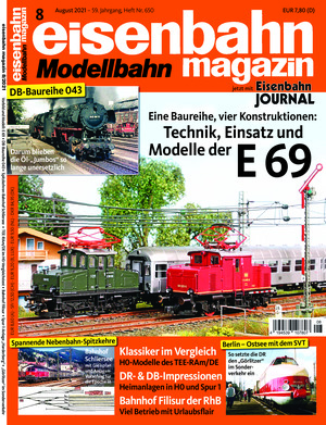 Eisenbahn Magazin (08/2021)