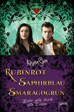 Rubinrot / Saphirblau / Smaragdgrün