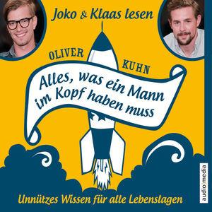 """Joko & Klaas lesen Oliver Kuhn """"Alles, was ein Mann im Kopf haben muss"""""""