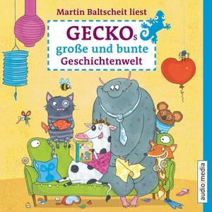 """Martin Baltscheit liest """"Geckos große und bunte Geschichtenwelt"""""""