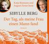 """Katja Riemann und August Zirner lesen Sibylle Berg """"Der Tag, als meine Frau einen Mann fand"""""""