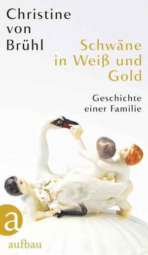 Schwäne in Weiß und Gold