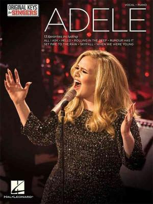 Adele Original Keys for Singers