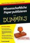Wissenschaftliche Paper publizieren fur Dummies