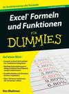 Vergrößerte Darstellung Cover: Excel Formeln und Funktionen fur Dummies. Externe Website (neues Fenster)