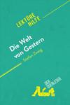 Vergrößerte Darstellung Cover: Die Welt von Gestern von Stefan Zweig. Externe Website (neues Fenster)