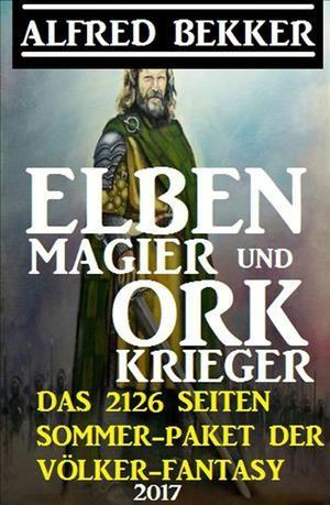 Elben-Magier Und Ork-Krieger