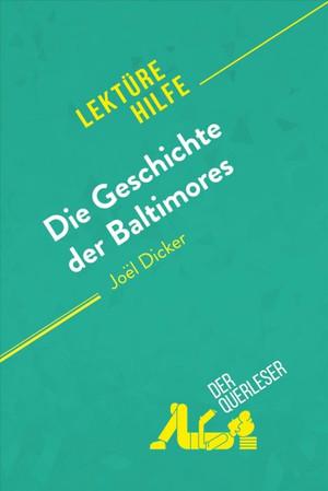 """Die Geschichte der Baltimores von JoÃ""""l Dicker"""