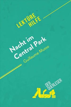 Nacht Im Central Park Von Guillaume Musso