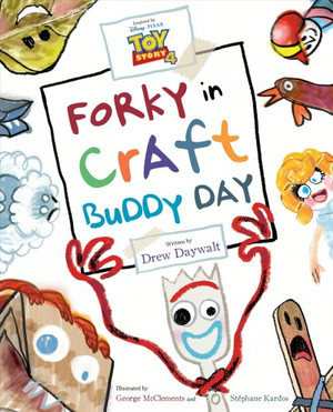 Toy Story 4 - Forky in Craft Buddy Day