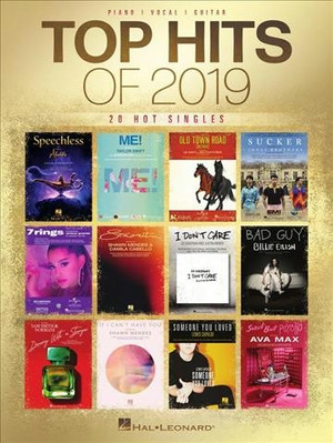 Top Hits of 2019 Songbook