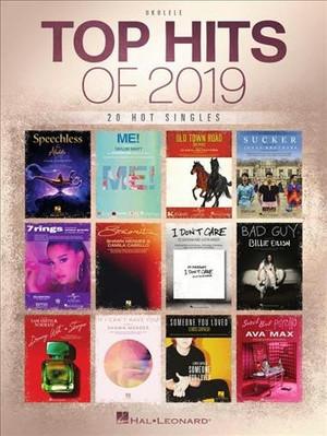 Top Hits of 2019 Ukulele Songbook