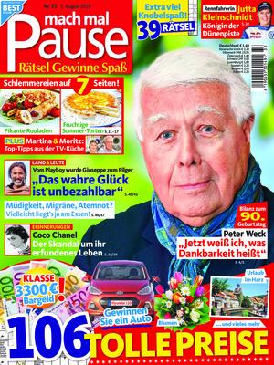 mach mal Pause (33/2020)