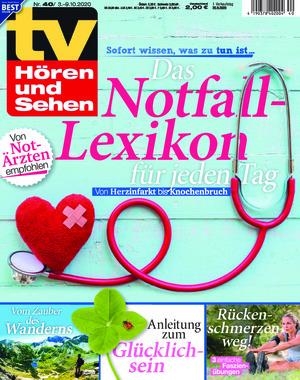 tv Hören und Sehen (40/2020)
