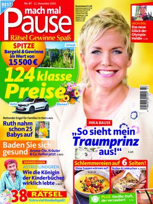 mach mal Pause (47/2020)