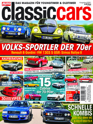 Auto Zeitung Classic Cars (04/2021)