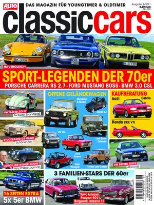 Auto Zeitung Classic Cars (08/2021)