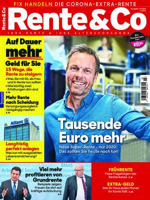 Rente und Co. (03/2020)