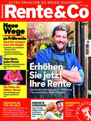 Rente und Co. (01/2021)