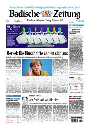 Badische Zeitung - Rheinfelden/Wiesental (22.01.2021)