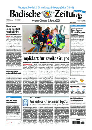 Badische Zeitung - Ortenau (23.02.2021)
