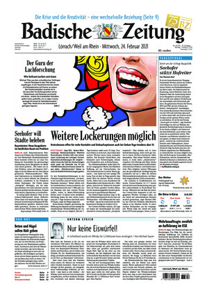 Badische Zeitung - Lörrach/Weil am Rhein (24.02.2021)