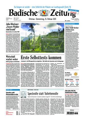 Badische Zeitung - Ortenau (25.02.2021)