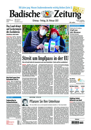 Badische Zeitung - Ortenau (26.02.2021)