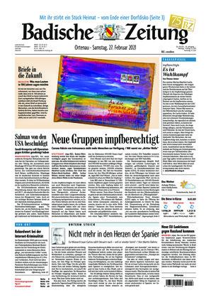 Badische Zeitung - Ortenau (27.02.2021)