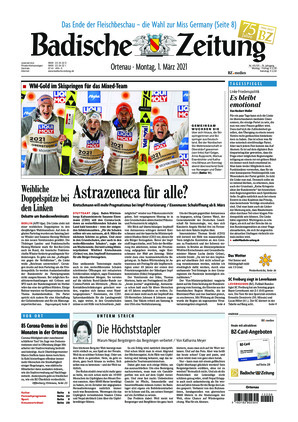 Badische Zeitung - Ortenau (01.03.2021)
