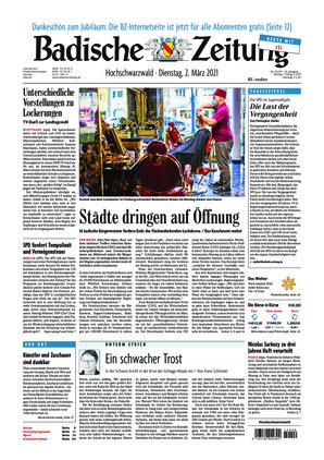 Badische Zeitung - Hochschwarzwald (02.03.2021)