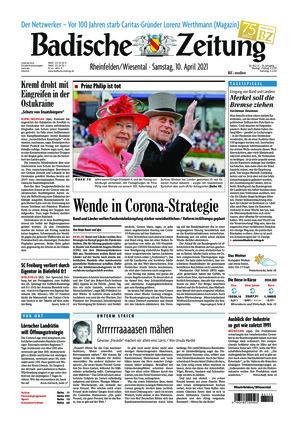 Badische Zeitung - Rheinfelden/Wiesental (10.04.2021)