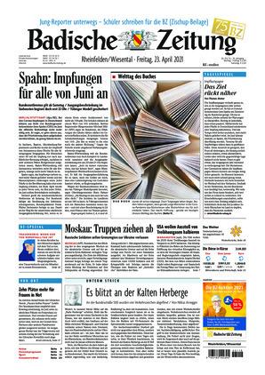 Badische Zeitung - Rheinfelden/Wiesental (23.04.2021)