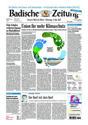 Badische Zeitung - Lörrach/Weil am Rhein (04.05.2021)
