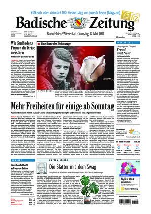 Badische Zeitung - Rheinfelden/Wiesental (08.05.2021)