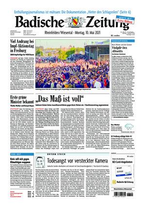 Badische Zeitung - Rheinfelden/Wiesental (10.05.2021)