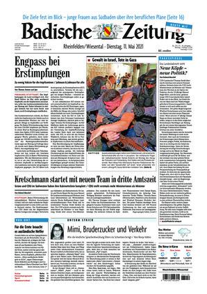 Badische Zeitung - Rheinfelden/Wiesental (11.05.2021)