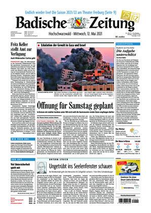 Badische Zeitung - Hochschwarzwald (12.05.2021)