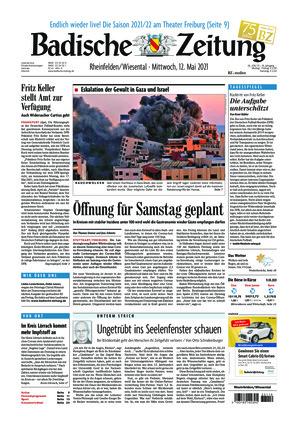 Badische Zeitung - Rheinfelden/Wiesental (12.05.2021)