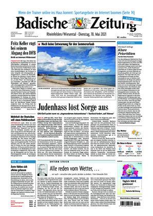 Badische Zeitung - Rheinfelden/Wiesental (18.05.2021)
