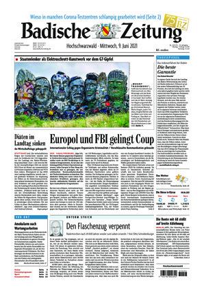 Badische Zeitung - Hochschwarzwald (09.06.2021)
