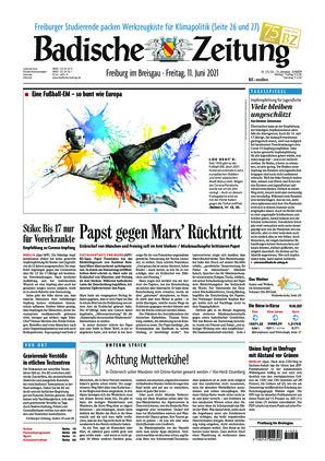 Badische Zeitung - Freiburg im Breisgau (11.06.2021)