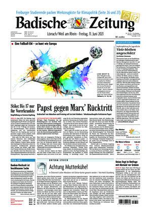 Badische Zeitung - Lörrach/Weil am Rhein (11.06.2021)