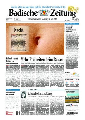Badische Zeitung - Hochschwarzwald (12.06.2021)