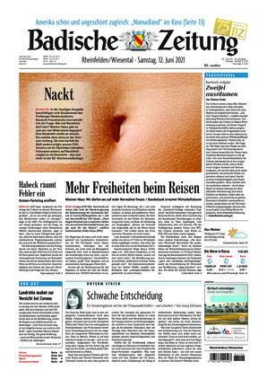 Badische Zeitung - Rheinfelden/Wiesental (12.06.2021)