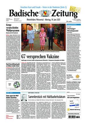 Badische Zeitung - Rheinfelden/Wiesental (14.06.2021)