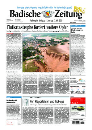 Badische Zeitung - Freiburg im Breisgau (17.07.2021)