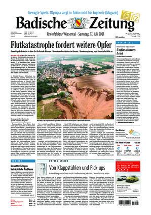 Badische Zeitung - Rheinfelden/Wiesental (17.07.2021)