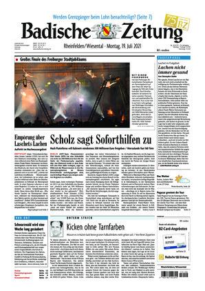 Badische Zeitung - Rheinfelden/Wiesental (19.07.2021)