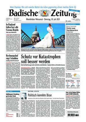 Badische Zeitung - Rheinfelden/Wiesental (20.07.2021)